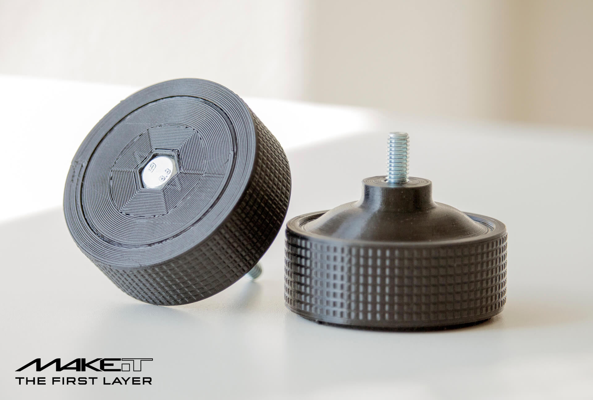High resolution 3D printed replacement parts